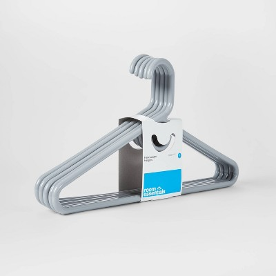 5pk Super Heavy Weight Hangers Gray - Room Essentials™