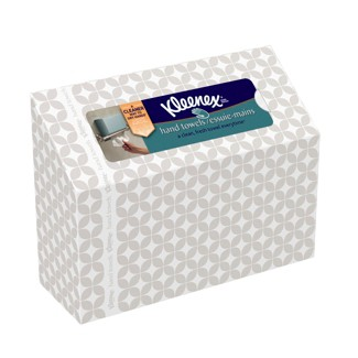 Kleenex Single Sheet White Hand Paper Towels - 60ct