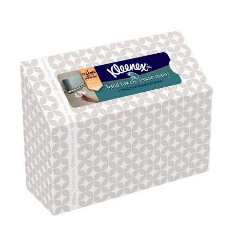 Kleenex Single Sheet White Hand Paper Towels - 60ct - image 1 of 6