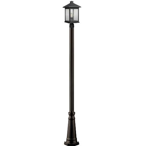 "Z-Lite 531PHBR-519P Portland 112.25"" Tall 1 Light Outdoor Lantern Post Light / Post Included - image 1 of 1"