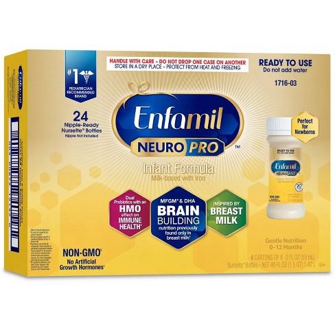 Enfamil NeuroPro Infant Formula Ready to Use Bottles - 24ct/2 fl oz Each - image 1 of 4
