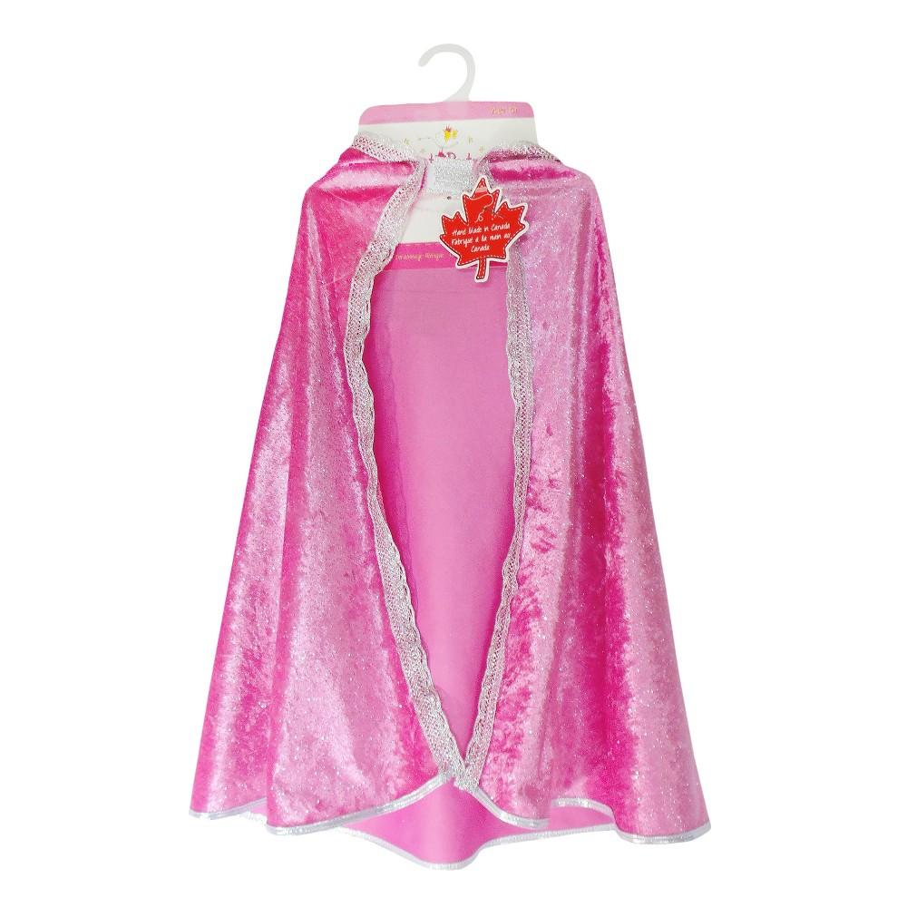 Great Pretenders Diamond Sparkle Cape - Dark Pink - Kid's Size 3-4, Kids Unisex