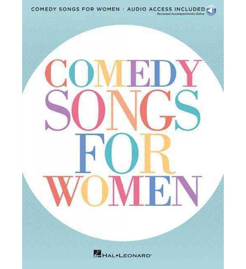 Comedy Songs for Women (Paperback) - image 1 of 1