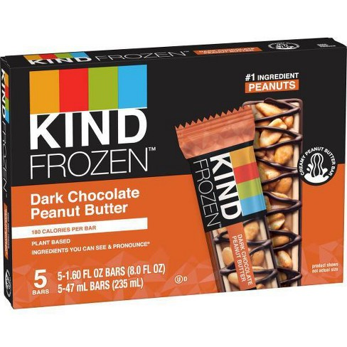 KIND Frozen Dark Chocolate Peanut Butter Bars - 5ct - image 1 of 4