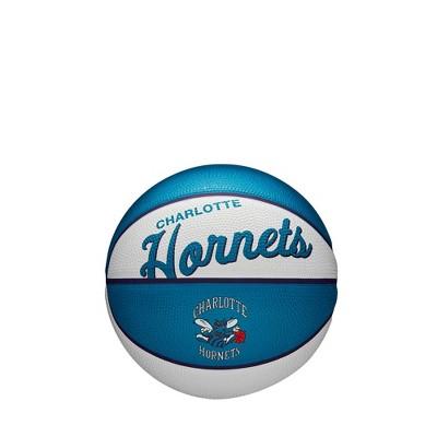 NBA Charlotte Hornets Retro Mini Basketball