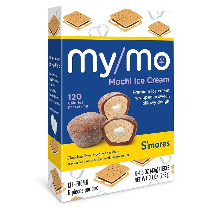 My/Mo S'mores Mochi Ice Cream - 6ct - image 1 of 2