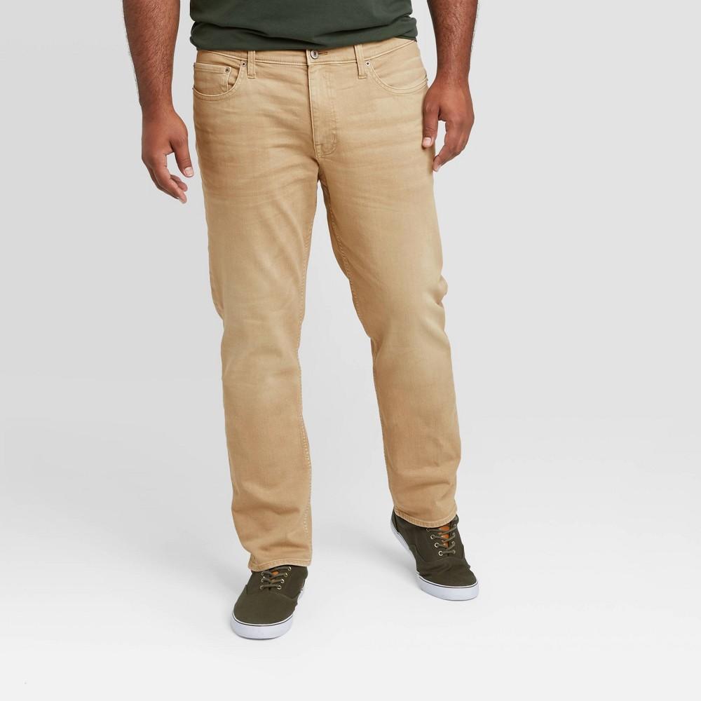 Men 39 S Big 38 Tall Slim Fit Jeans Goodfellow 38 Co 8482 Khaki 48x34