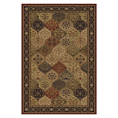 "Cathedral Magic Area Rug - Merlot (6'7""x9'8"") - image 1 of 3"