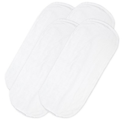Honest Baby Organic Cotton Liners - White 4pk
