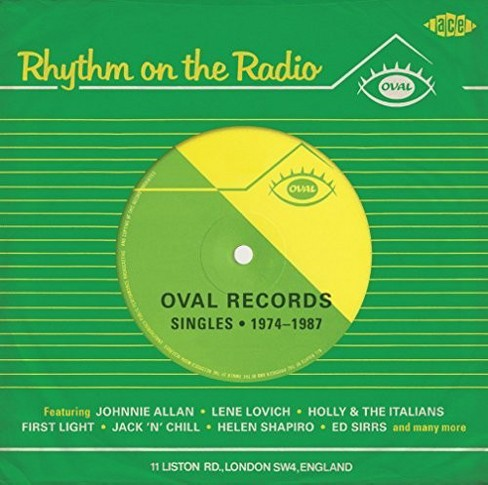 Various - Rhythm On The Radio:Oval Records Sing (CD) - image 1 of 1