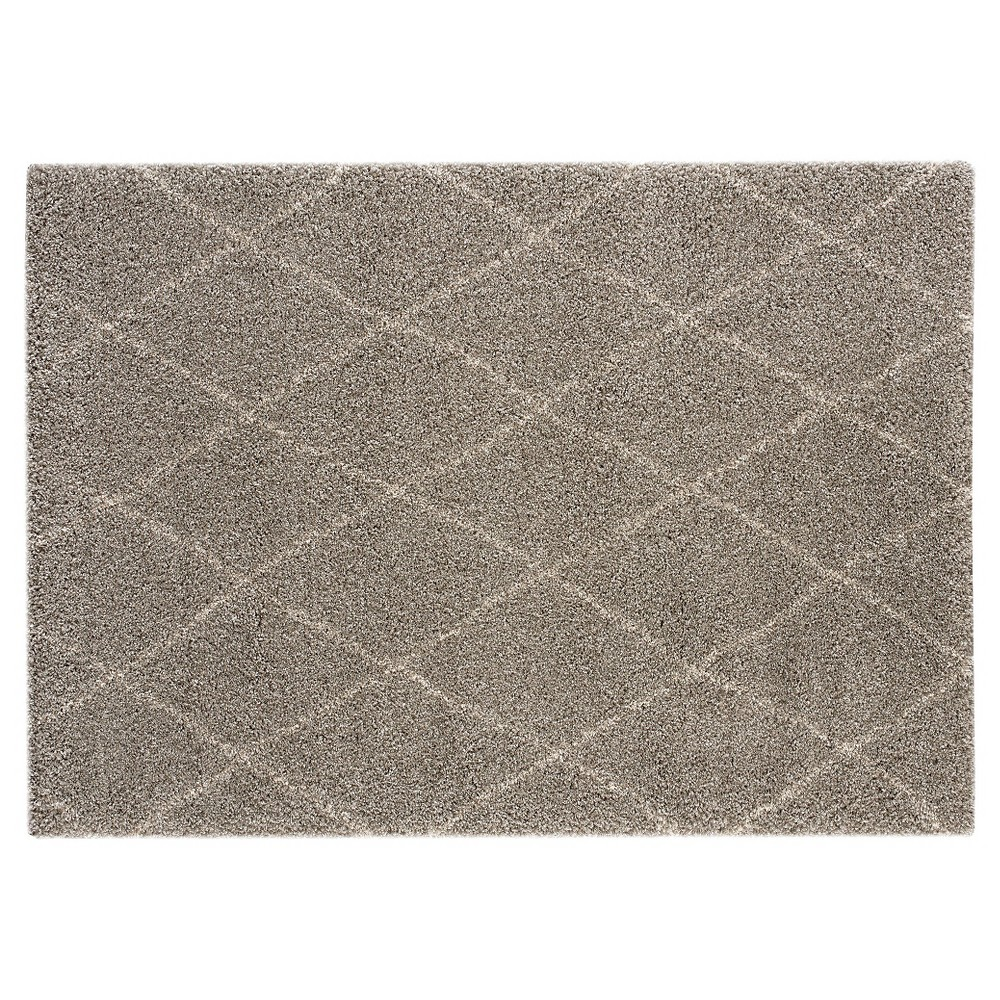 Image of 8'X10' Diamond Area Rug Heather Gray - Balta Rugs, Beige Gray