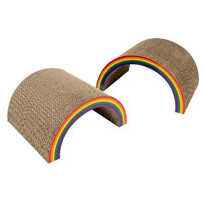 PRIDE Double Rainbow Cat Scratcher Toy - Boots & Barkley™