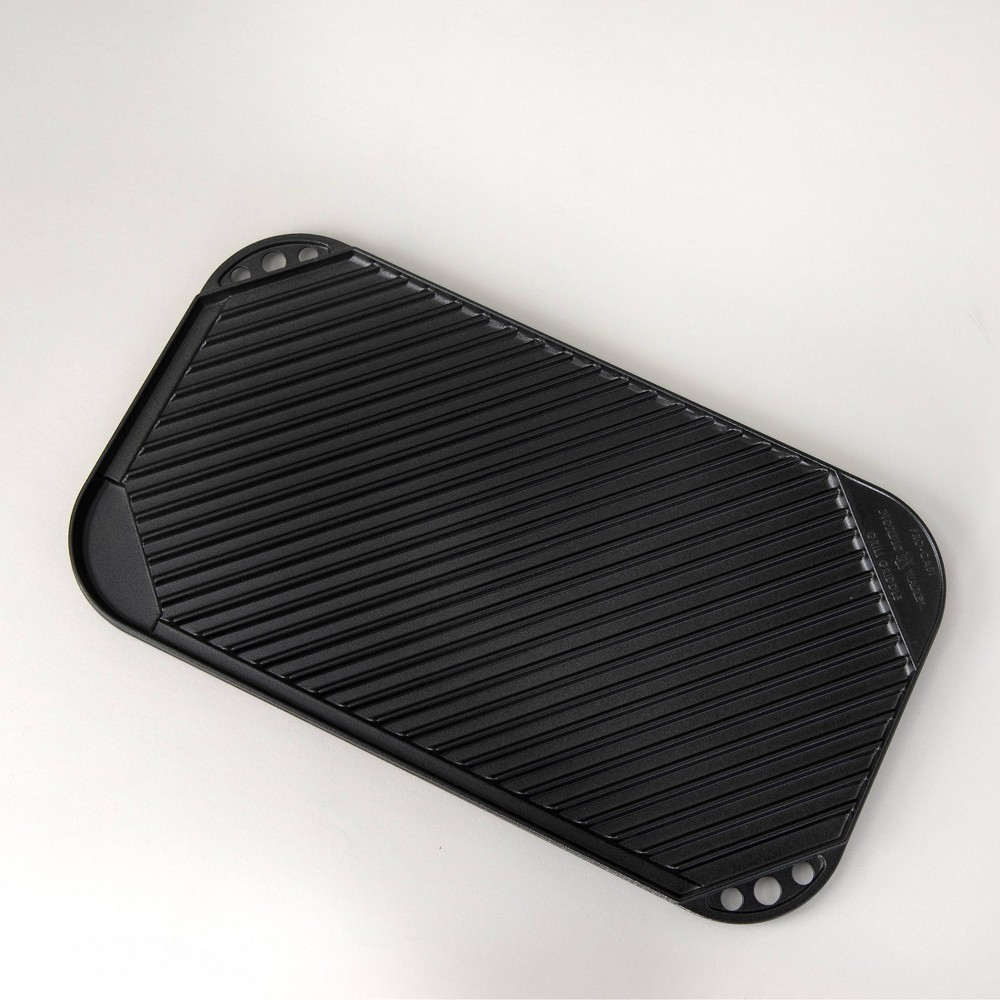 Image of 2 Burner Reverse Griddle Black - Nordicware