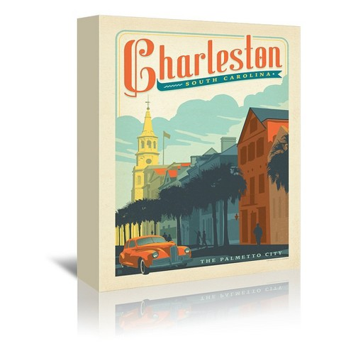 Americanflat Charleston By Anderson Design Group Canvas Target