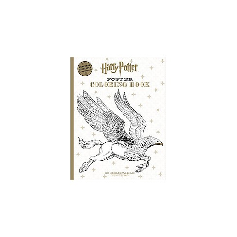 Harry Potter Poster Coloring Book - by  Scholastic (Paperback) - image 1 of 1