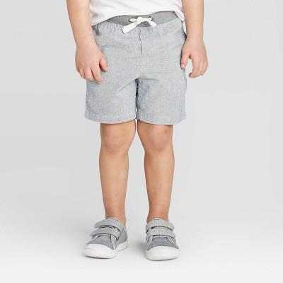 Toddler Boys' Chino Shorts - Cat & Jack™ Gray 12M