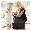 Skip Hop Chelsea Chic Diaper Bag Satchel, Black - image 3 of 4