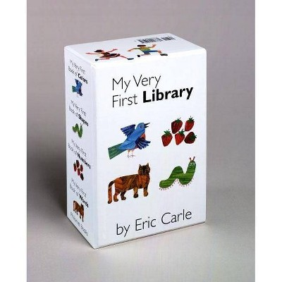 My Very First Library - by Eric Carle (Board_book)