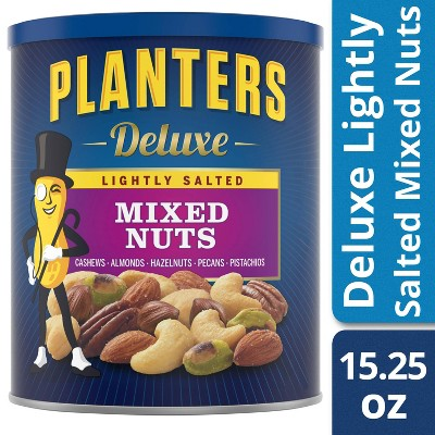 Planters Deluxe Lightly Salted Mixed Nuts-15.25oz