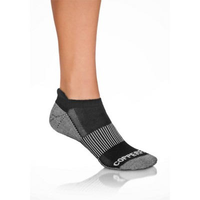 Copper Fit Men's Ankle Socks L/XL 3pk - Black