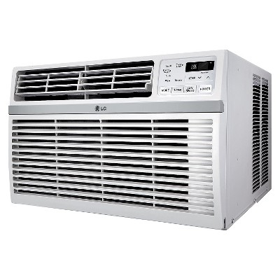 LG - 24500-BTU 230V Window-Mounted Air Conditioner with Remote Control - White