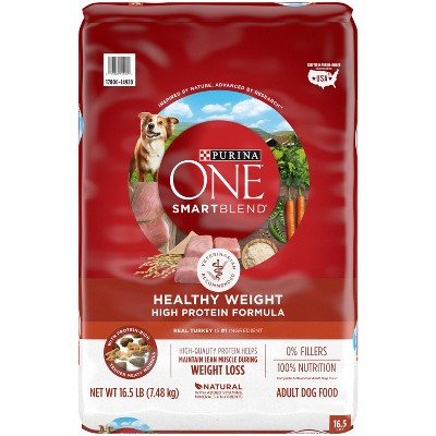 Purina ONE SmartBlend High Protein Healthy Weight Adult Dry Dog Food