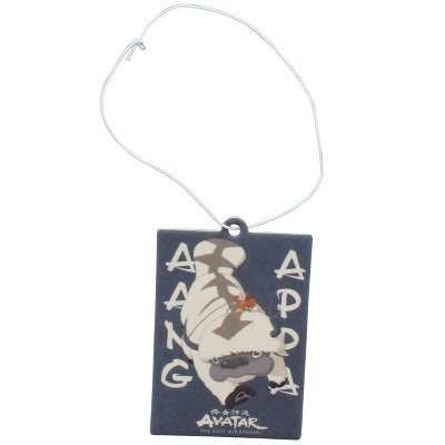 Surreal Entertainment Avatar The Last Airbender Aang and Appa Air Freshener | Vanilla Scent