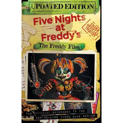 Freddy Files -  Updated (Five Nights at Freddy's) by Scott  Cawthon (Paperback)