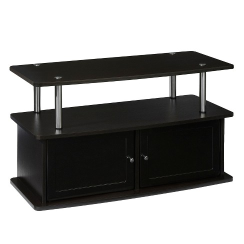 "TV Stand with 2 Cabinets - Espresso 36"" - Convenience Concepts - image 1 of 3"