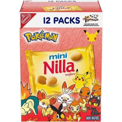 Mini Nilla Wafers Cookies - Munch Pack - 12oz/12ct