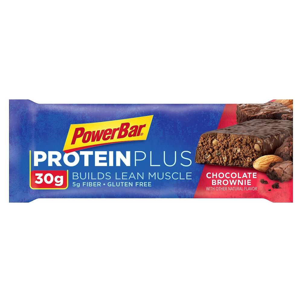 PowerBar ProteinPlus 30g Bar - Chocolate Brownie - 12ct