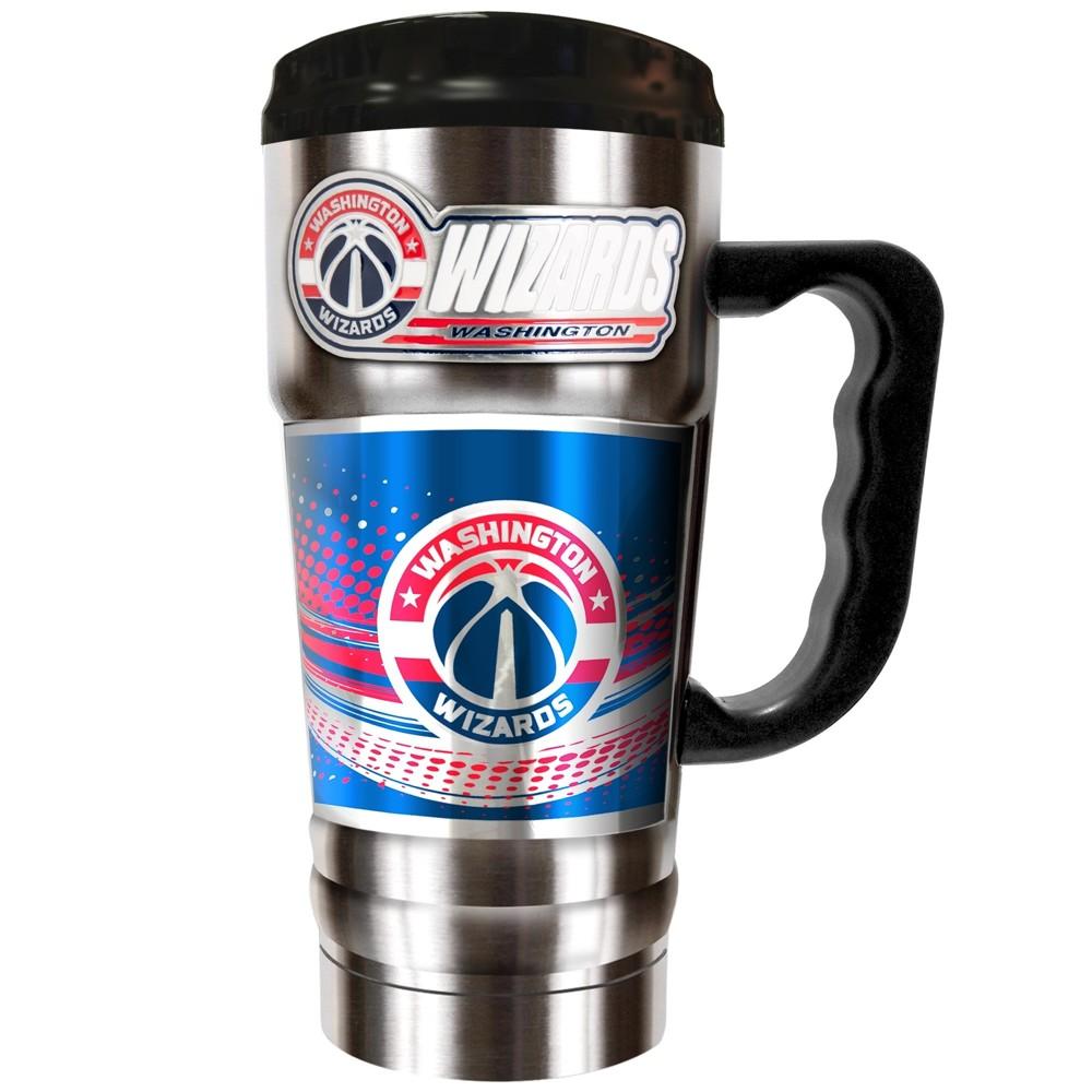 NBA Washington Wizards 20oz Champ Vacuum Insulated Stainless Steel Travel Tumbler