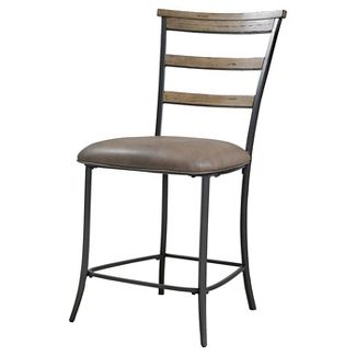 Charleston 26u0022 Counter Stool Wood/Tan - Hillsdale Furniture