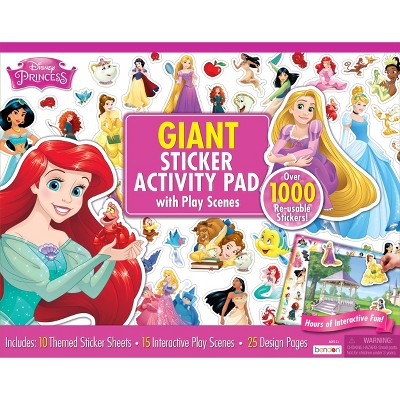 Disney Princess Giant Sticker Activity Pad