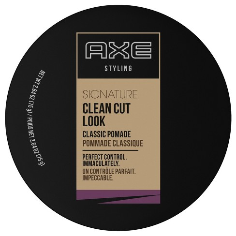 AXE Signature Clean Cut Look Hair Classic Pomade - 2.64 oz - image 1 of 4