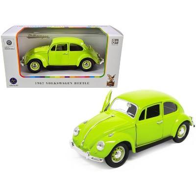 1967 Volkswagen Beetle Light Green 1/24 Diecast Model Car by Road Signature
