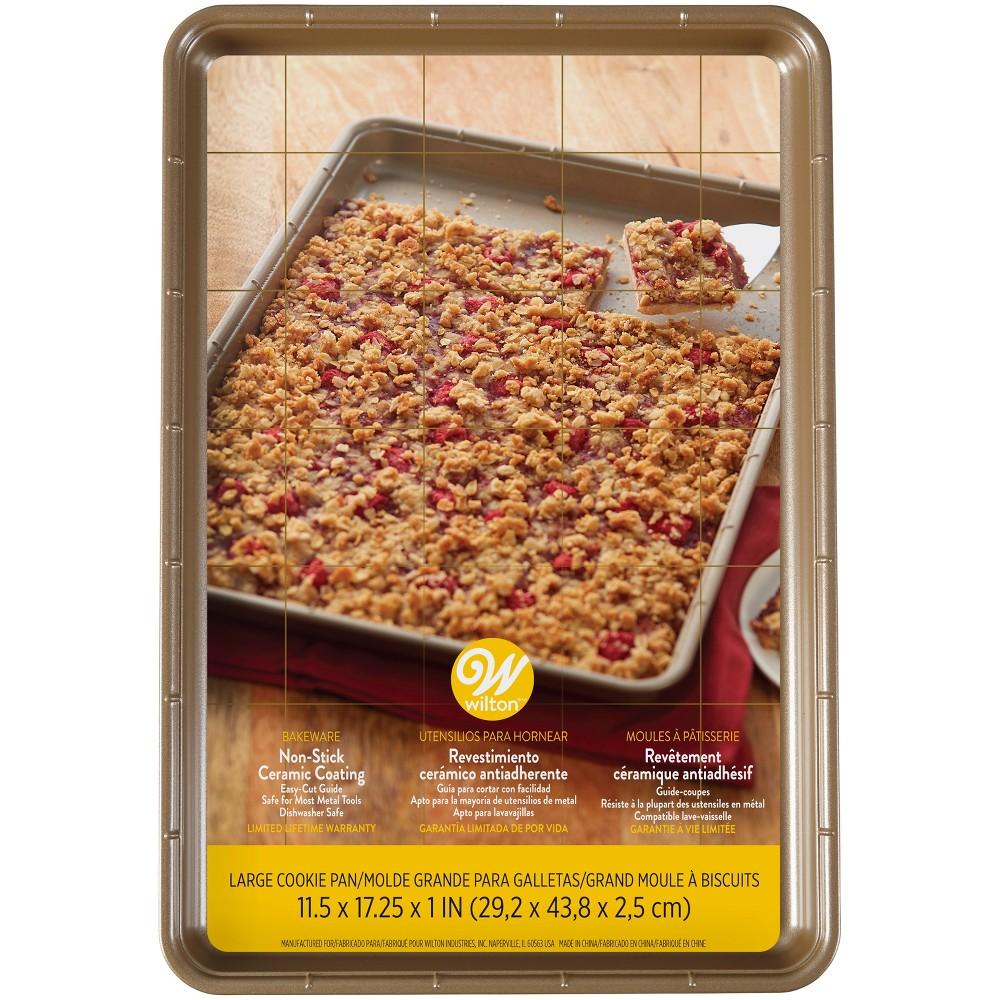 Wilton 11.5x17.25 Ceramic Cookie Pan, Multi-Colored