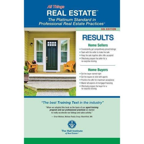 5th Edition - All Things REAL ESTATE - - (For Realtors Only) 3 Edition by  Walter R Hall (Paperback) - image 1 of 1