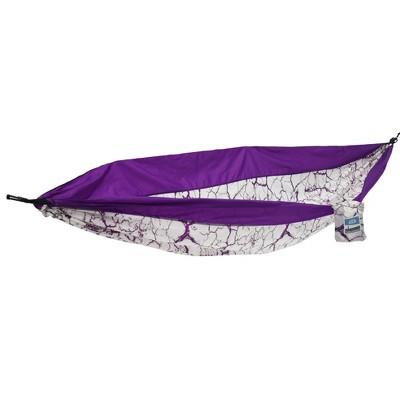 Equip 1 Person Travel Hammock - Purple Lightning