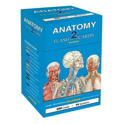 Anatomy 2 Flash Cards - by  Vincent Perez