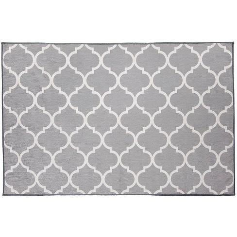 Moroccan Trellis 2pc Woven Rug set (cover & pad) - image 1 of 4
