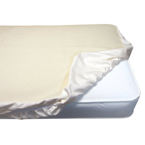 Naturepedic Organic Cotton Mattress Protector for Crib