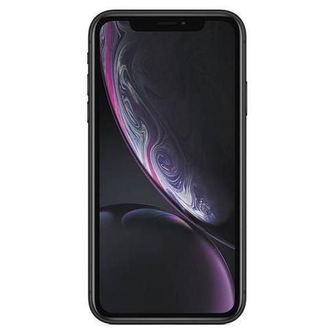 Consumer Cellular Apple iPhone XR (64GB) - Black - image 1 of 3