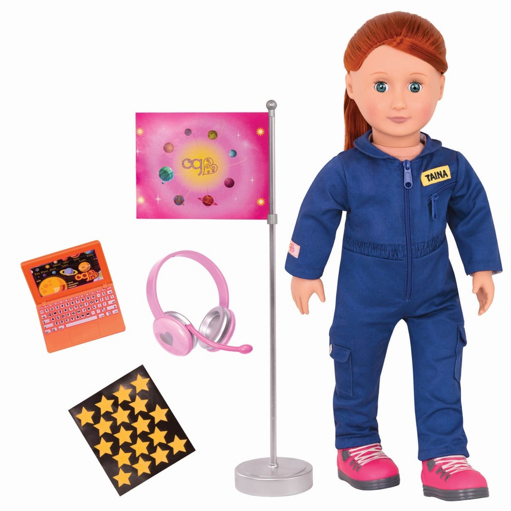 Our Generation Professional Doll - Astronaut - Taina