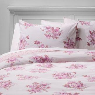 King Cactus Rosebloom Duvet & Sham Set Pink Blush - Simply Shabby Chic®