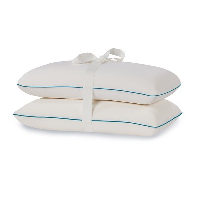Comfort Revolution Memory Foam Bed Pillow - White (Twin Pack)