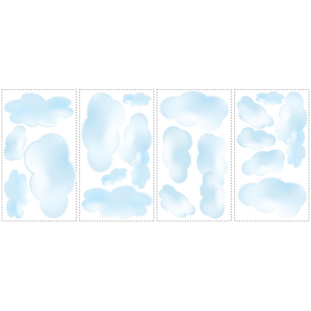 Image of Roommates Clouds Appliqué