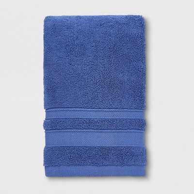 Performance Solid Hand Towel True Navy - Threshold™