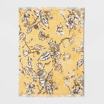 Cotton Flower Printed Fused Placemat - Threshold™