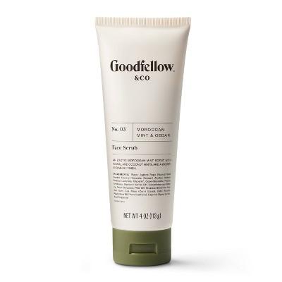 No. 03 Moroccan Mint & Cedar Face Scrub - 4oz - Goodfellow & Co™